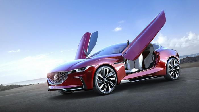 (foto/video) Conceptul MG E-Motion va costa în varianta de serie cel mult 40.000 de dolari