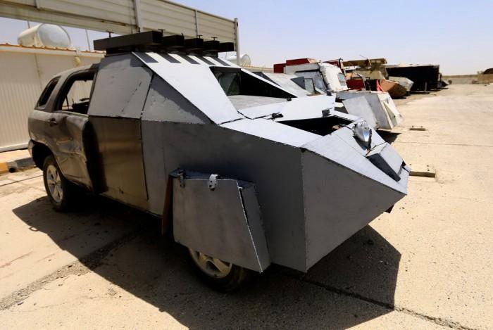 (foto/video) Maşinile pe care poliţia irakiană le-a confiscat după eliberarea oraşului Mosul de terorişti