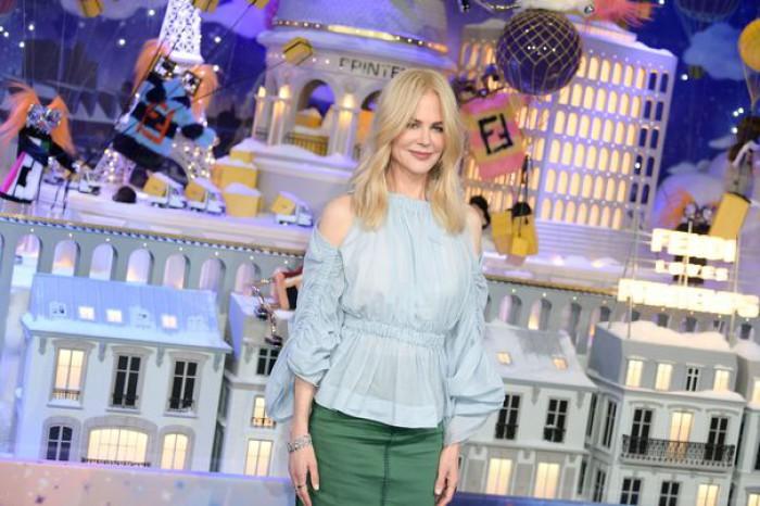 (foto/video) Nicole Kidman a inaugurat o lume de basm la Paris şi a dat startul sezonului sărbătorilor de iarnă