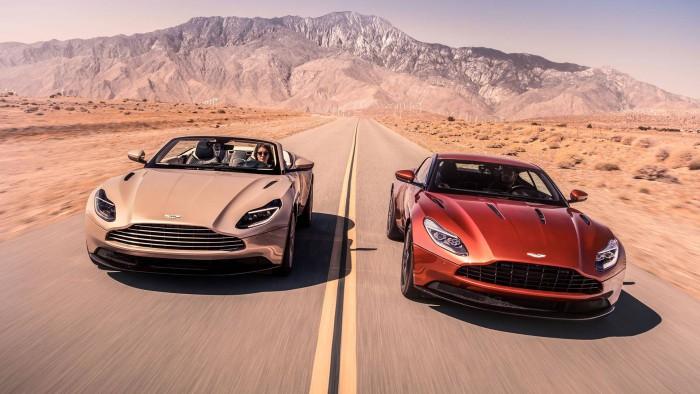 (foto/video) Premieră mondială: Aston Martin DB11 Volante
