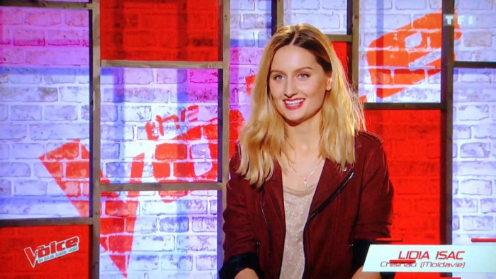 (foto/video) Prima moldoveancă la Voice of France. Lidia Isac ne-a dus faima la concurs