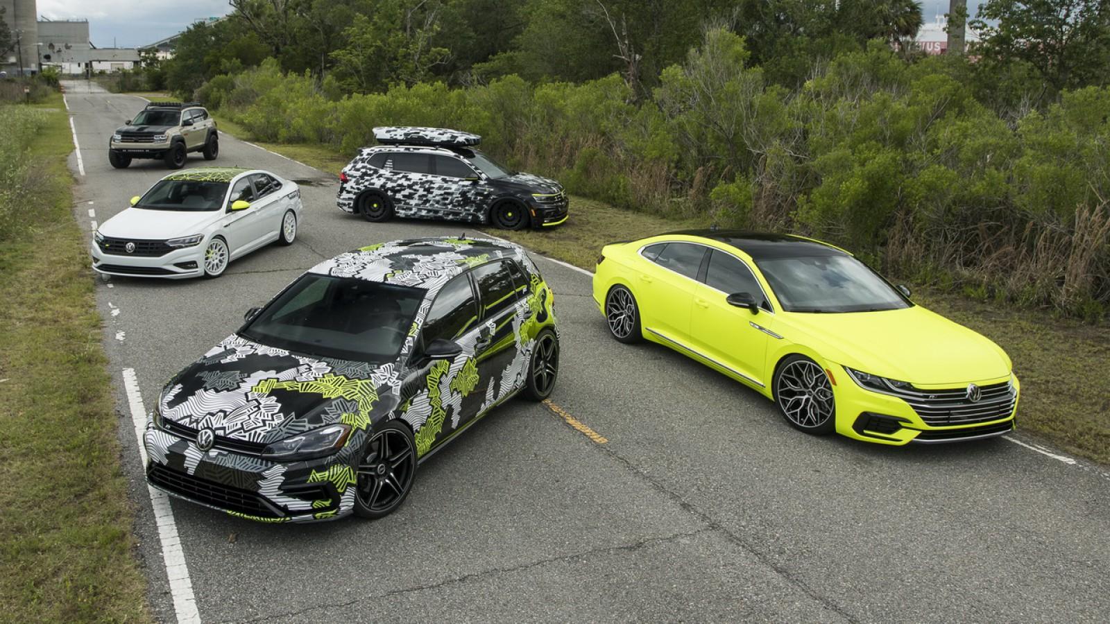 (foto/video) Volkswagen a prezentat cinci mașini speciale, făcute după ideile fanilor mărcii