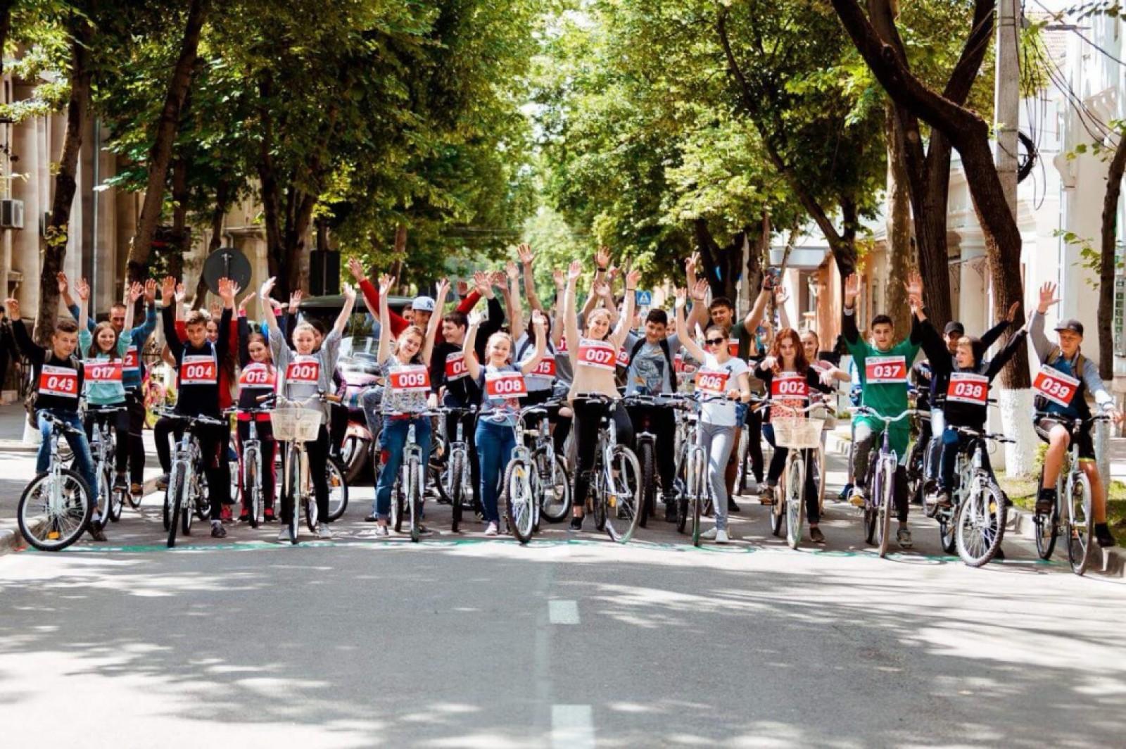 (foto) Ziua Sportivului marcată de Primăria Orhei: Maraton de ciclism și alte competiții sportive
