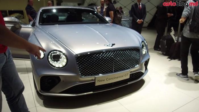 Frankfurt 2017: Standul Bentley – Reportaj Video AutoBlog.MD