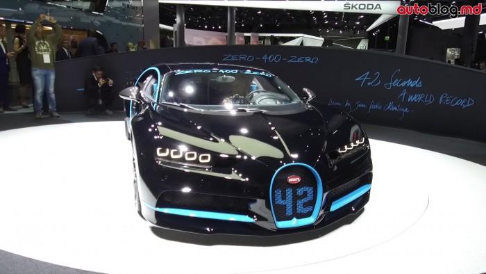 Frankfurt 2017: Standul Bugatti – Reportaj Video AutoBlog.MD