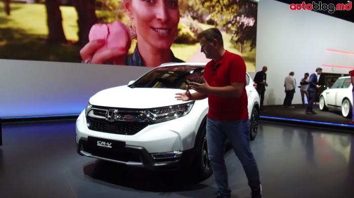 Frankfurt 2017: Standul Honda – Reportaj Video AutoBlog.MD