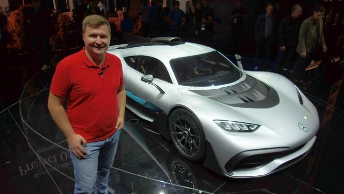 Frankfurt 2017: Standul Mercedes-Benz – Reportaj Video AutoBlog.MD