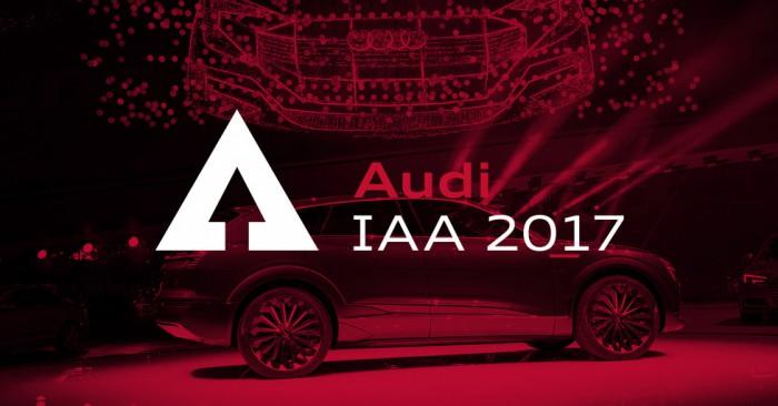 Frankfurt 2017: Transmisiune LIVE de la standul companiei Audi