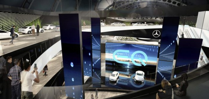 Frankfurt 2017: Transmisiune LIVE de la standul companiei Mercedes-Benz