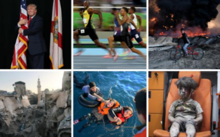 (galerie foto) Evenimentele care au marcat anul 2016 în 16 imagini impresionante
