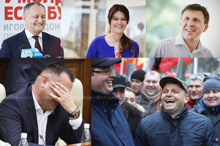 (galerie foto) Imagini de colecție. Cum arată fericirea în politica moldovenească