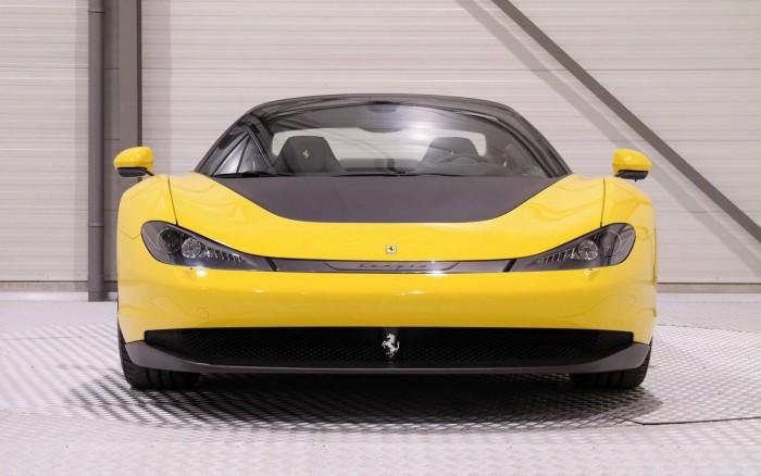 (galerie foto) Maşină exclusivă! Primul din cele şase Ferrari Sergio se vinde