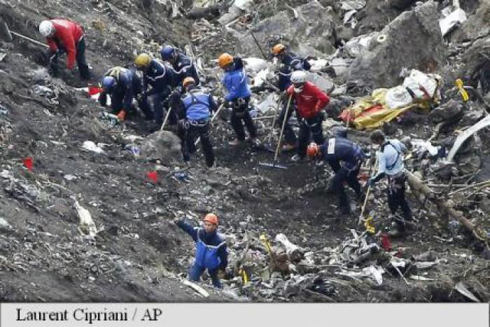 Germania: Pilotul Andreas Lubitz, singurul vinovat pentru prăbușirea avionului Germanwings