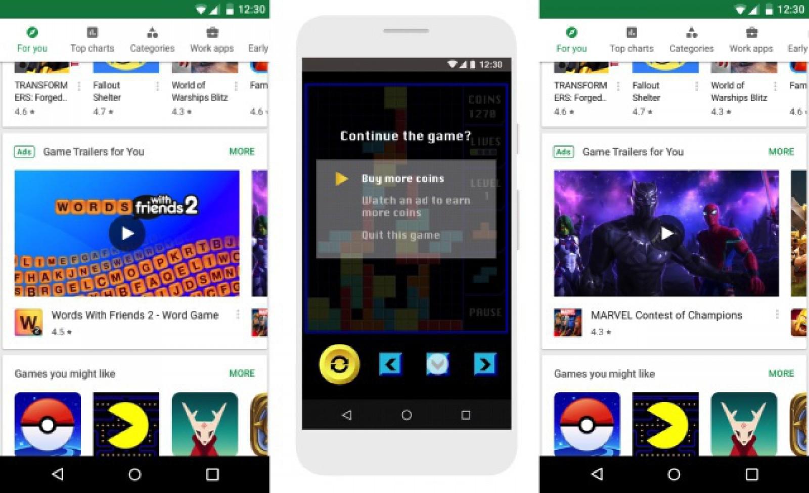 Google ar putea introduce reclame video în Play Store