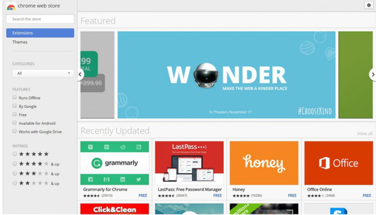 Google închide secţiunea Chrome apps, pentru platformele Windows şi Mac