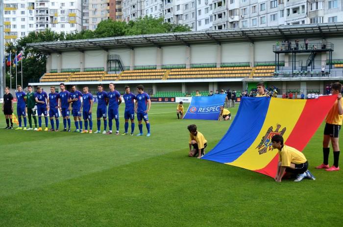 """Hai la fotbal! Naționala de """"Tineret"""" a Moldovei se bate astăzi cu naționala U-21 a Ciprului. Intrare gratuită!"""