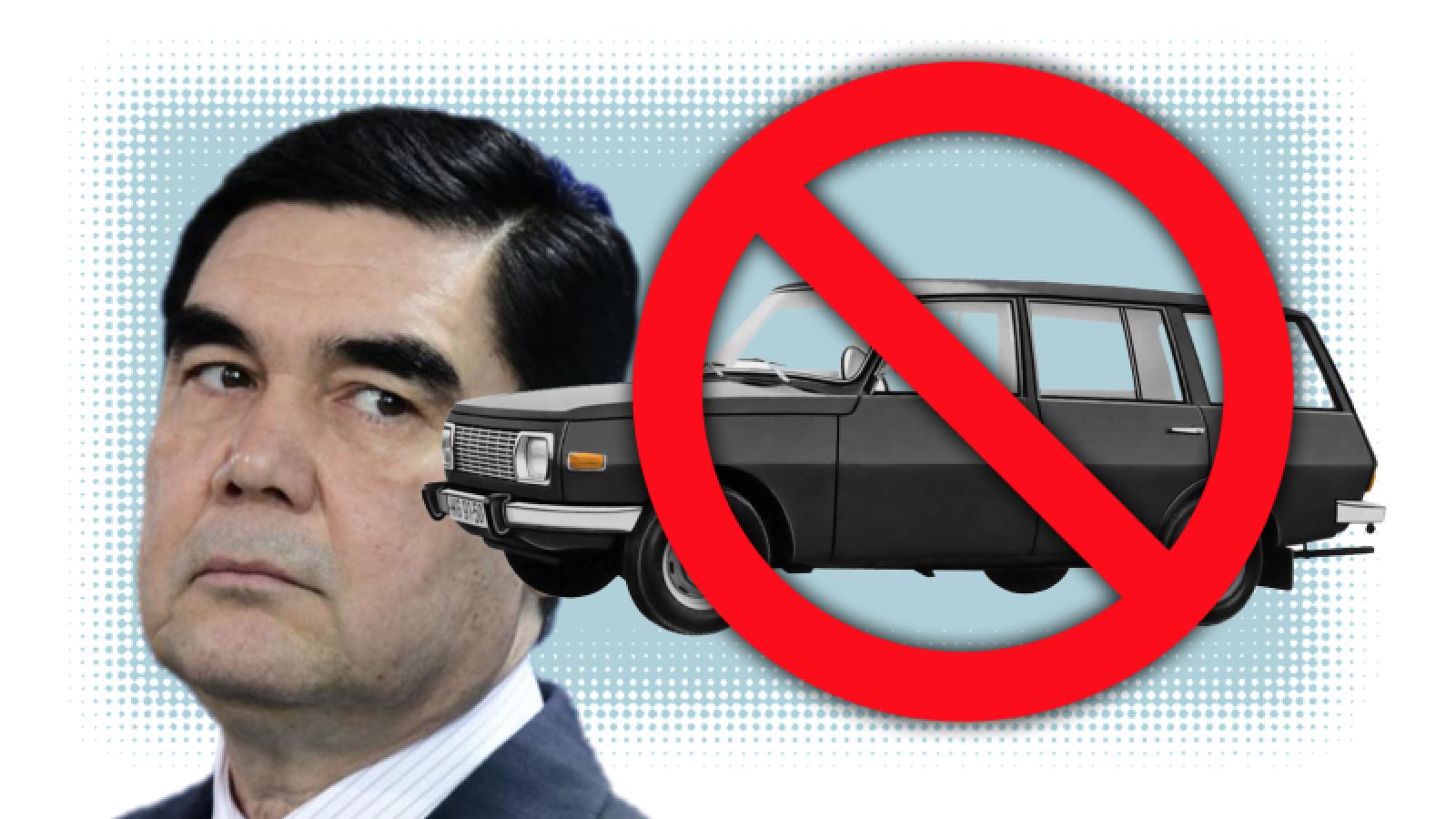 Haos în Turkmenistan! Poliţiştii opresc toate maşinile de culoare închisă, iar femeilor li s-a interzis să conducă