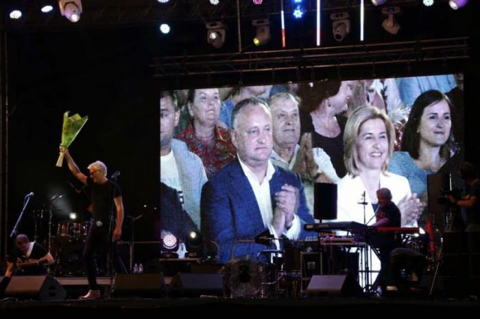 Igor Dodon a participat la festivitățile prilejuite de ziua creării Găgăuziei și hramul orașului Comrat