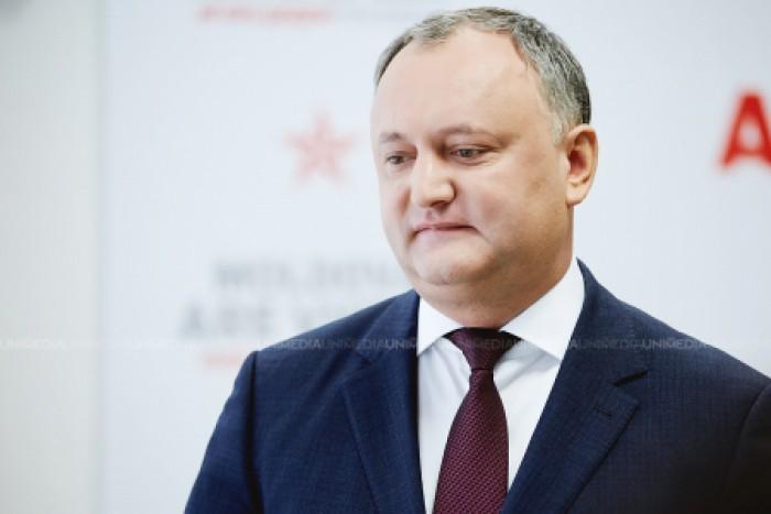 """Igor Dodon, despre candidatura lui Eugen Sturza: """"Am cerut un militar profesionist, iar Guvernul îmi propune un băiat de granturi"""""""