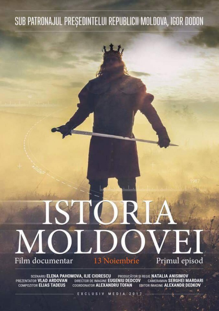 "Igor Dodon și-a încheiat vizita la Moscova și a mers direct la premiera filmului ""Istoria Moldovei"""