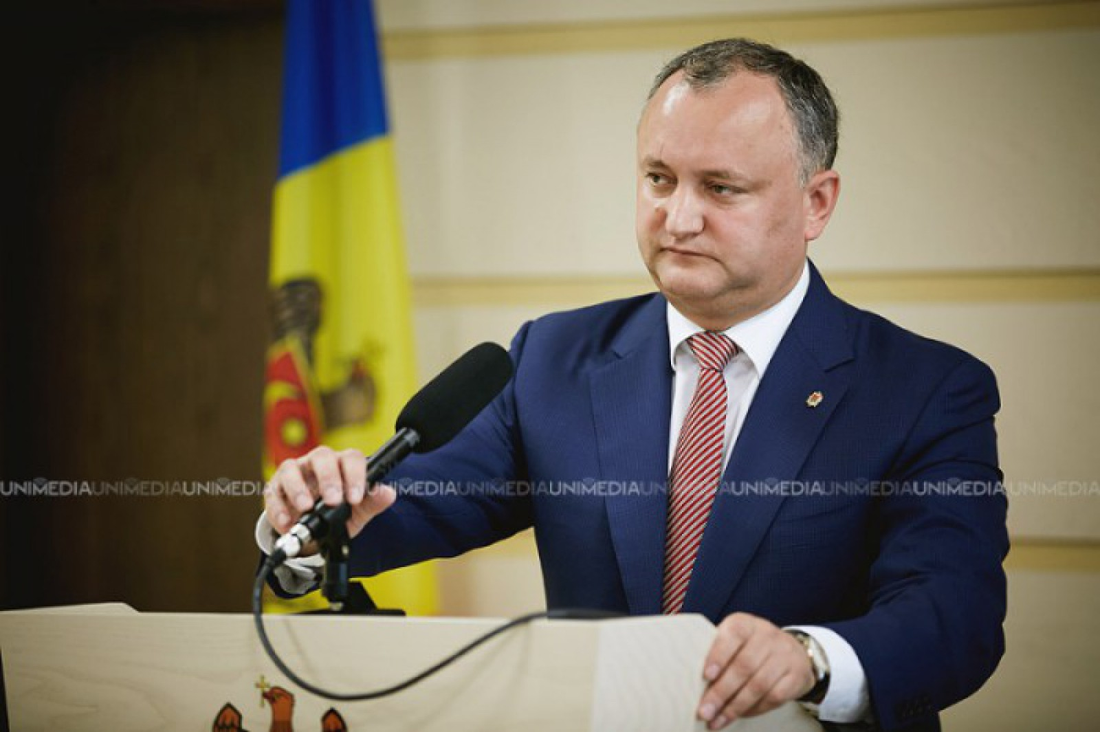 Igor Dodon va delega un reprezentant la funeraliile Regelui Mihai I al României