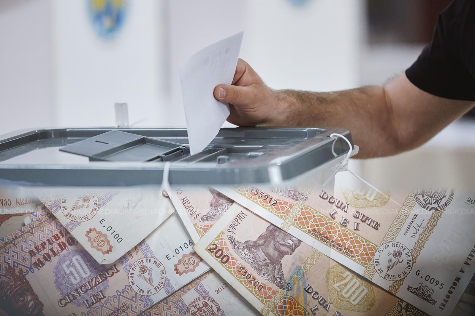 (infografic) Ziarul de Gardă: Cât i-a costat un vot pe concurenții electorali? De la 865 de lei până la niciun leu cheltuit