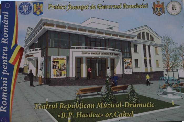 Investiții de milioane pentru restaurarea edificiilor de cultură. Teatrul din Cahul și Sala cu Orgă, readuse la viaţă cu ajutorul financiar al României
