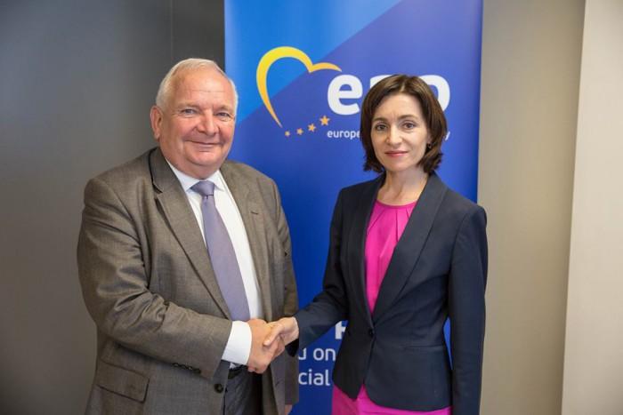 Joseph Daul despre rezultatele Maiei Sandu: A reușit să facă ceea ce nu au reușit alți pro-europeni