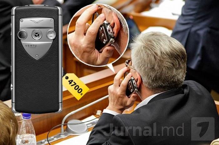 Juravschi explică de unde are un telefon de 5 mii de euro