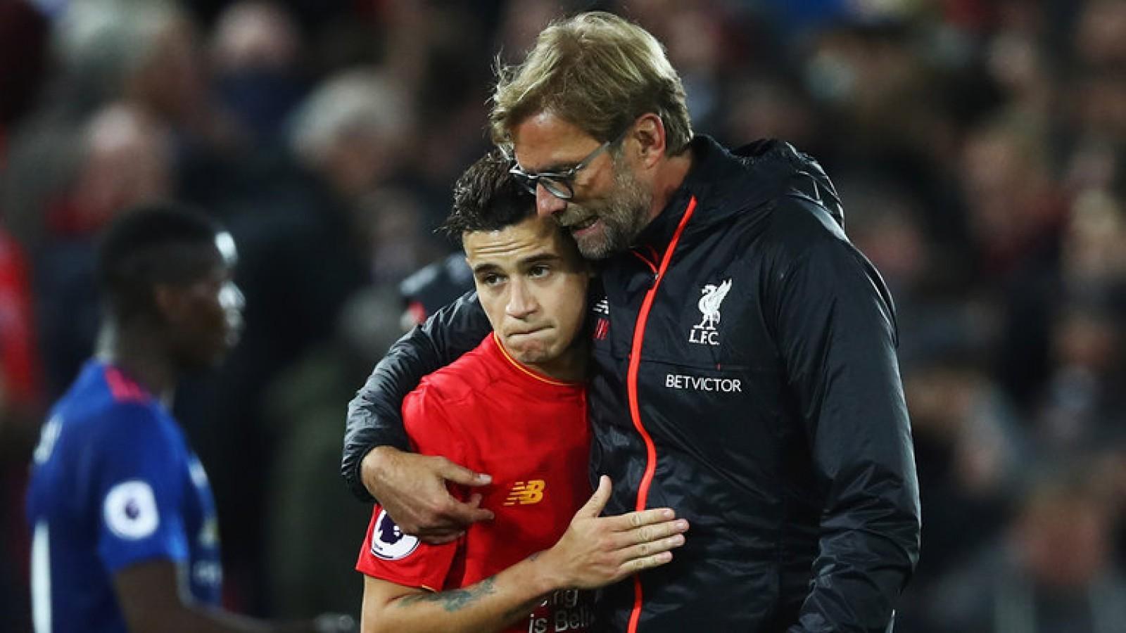 Jurgen Klopp: Nu sunt singur de faptul că Philippe Coutinho va rămâne la Liverpool după perioada de transferuri din iarnă