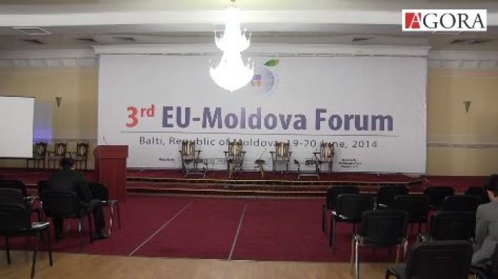(foto, video) La Bălți are loc cea de-a treia ediție a Forumului UE – Moldova