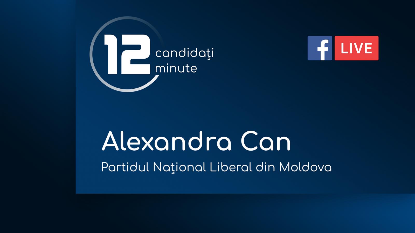 (video) 12 pentru Chișinău: Interviu cu Alexandra Can, candidat din partea Partidului Național Liberal