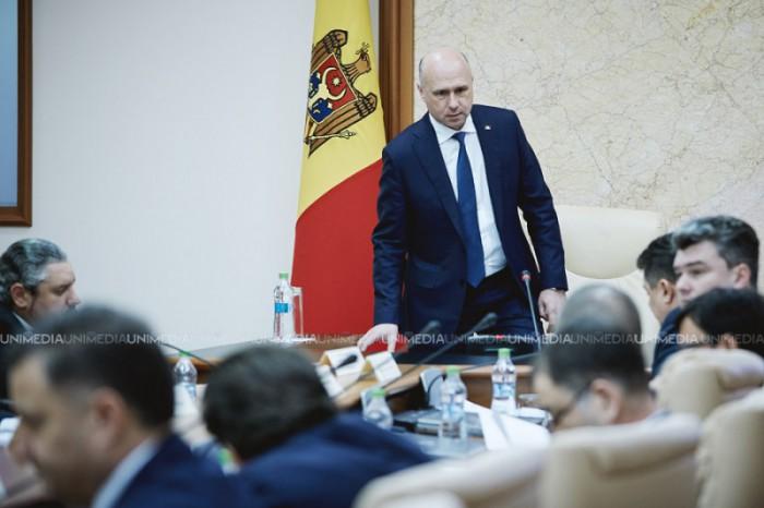(video) Ședința Guvernului Republicii Moldova prezidată de Pavel Filip