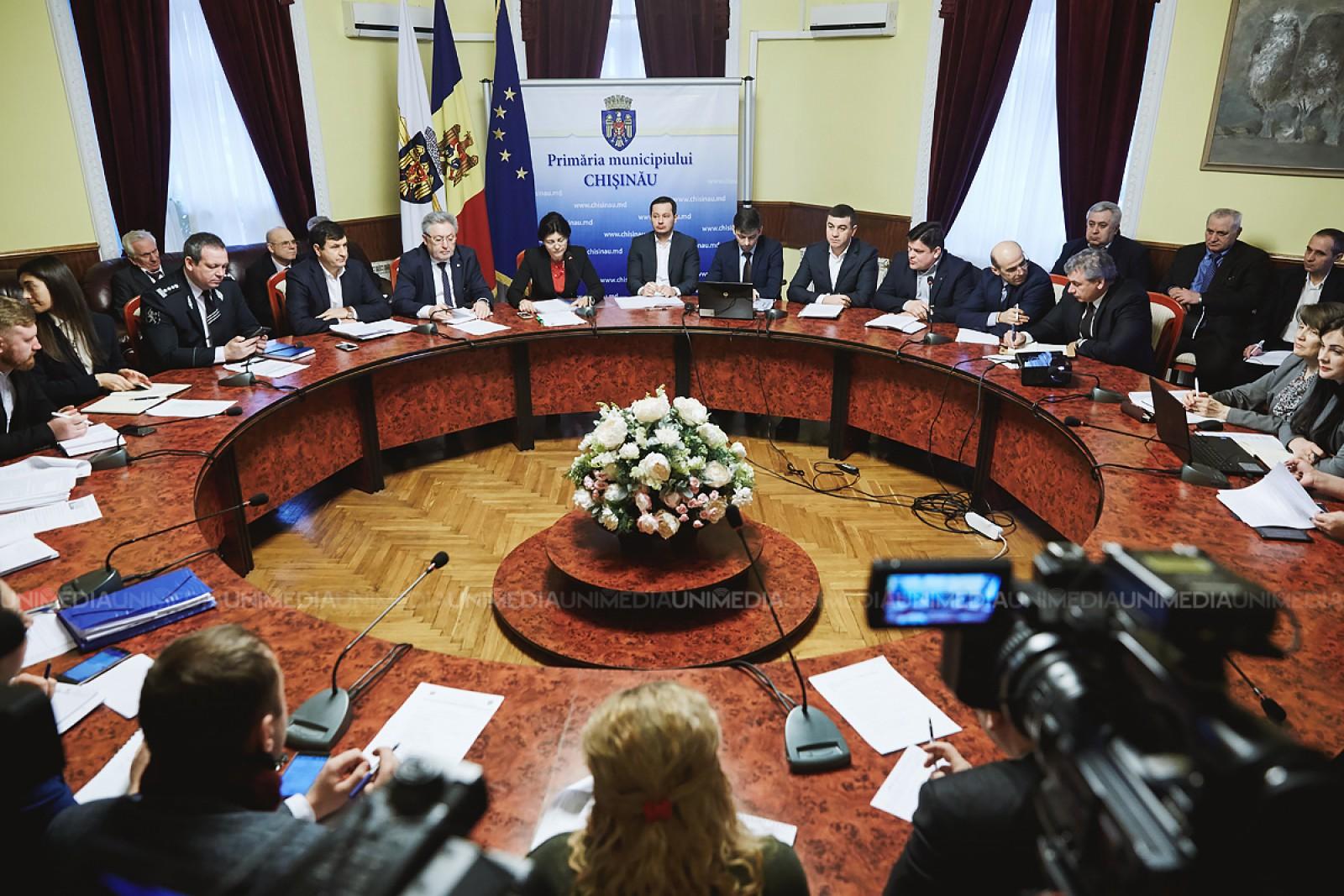 (video) Ședința săptămânală a serviciilor Primăriei Municipiului Chișinău