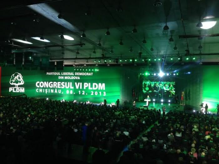 LIVE: Cel de-al şaselea Congres ordinar al Partidului Liberal Democrat din Moldova