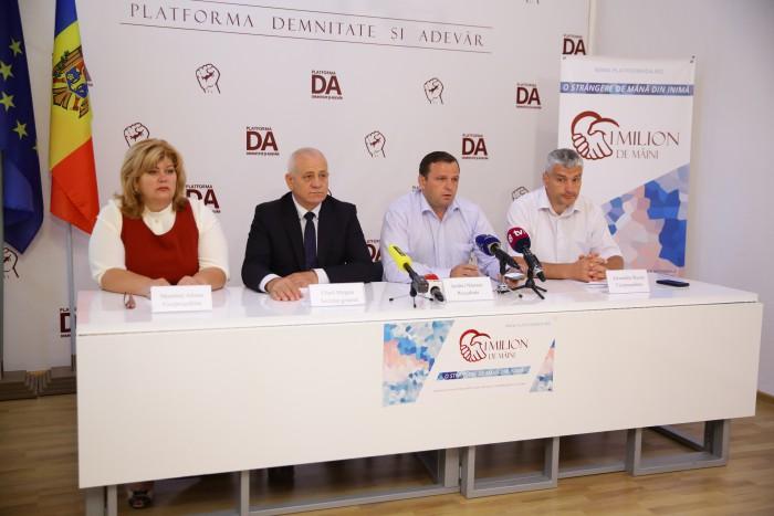 (video) Din ce bani va fi reparată clădirea Președinției? Platforma DA cere tragerea la răspundere penală a președintelui Igor Dodon