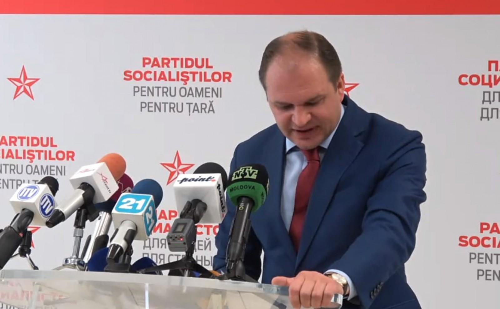 """(video) Ion Ceban, despre bugetul campaniei electorale: """"Toate întrebările le puneți la departamentul bugetar"""""""