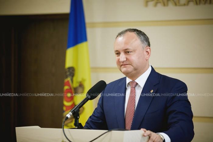 (video) Conferință de presă susținută de Igor Dodon