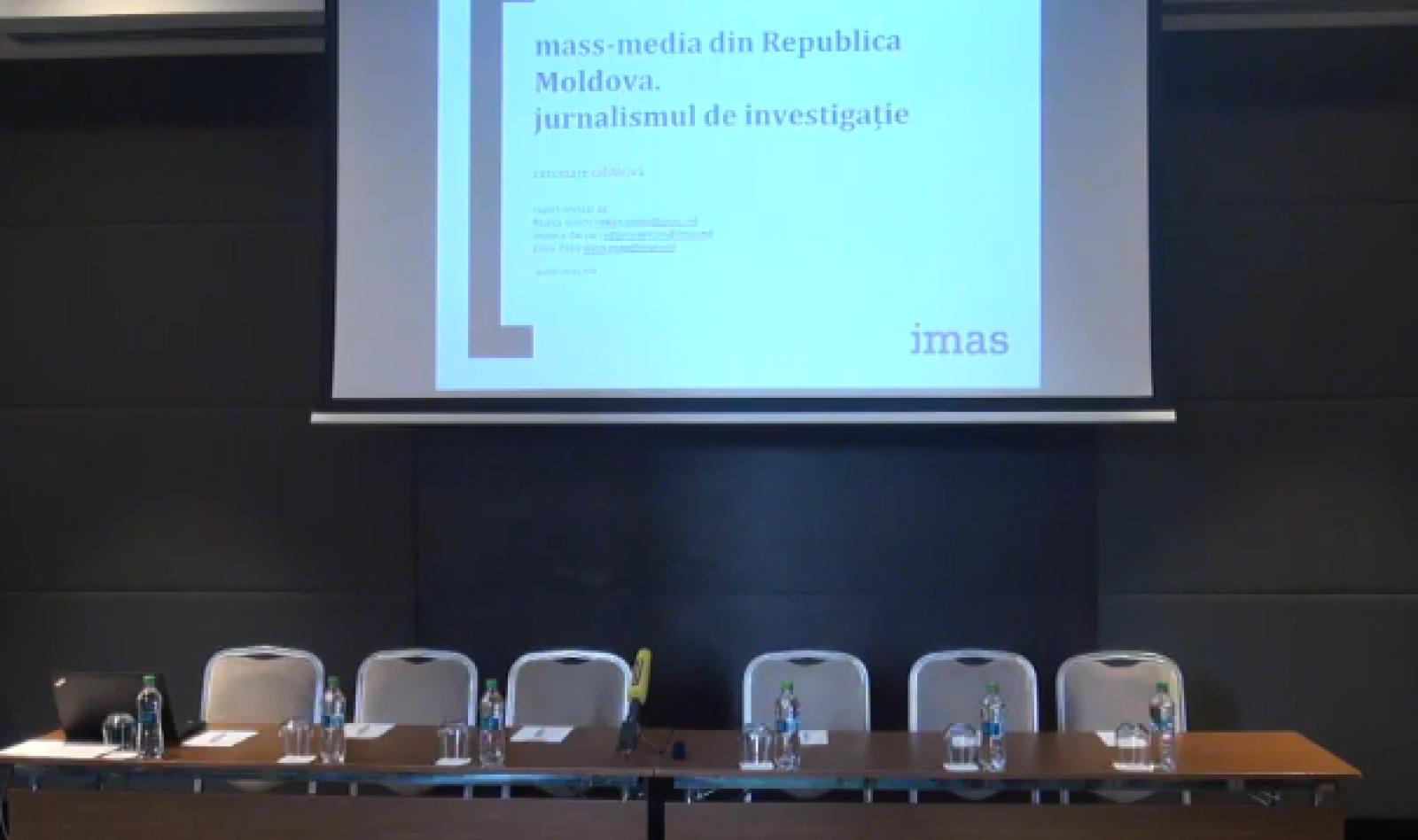"""(video) Prezentarea studiului """"Încrederea în presa din Republica Moldova: percepția publicului și a jurnaliștilor"""""""
