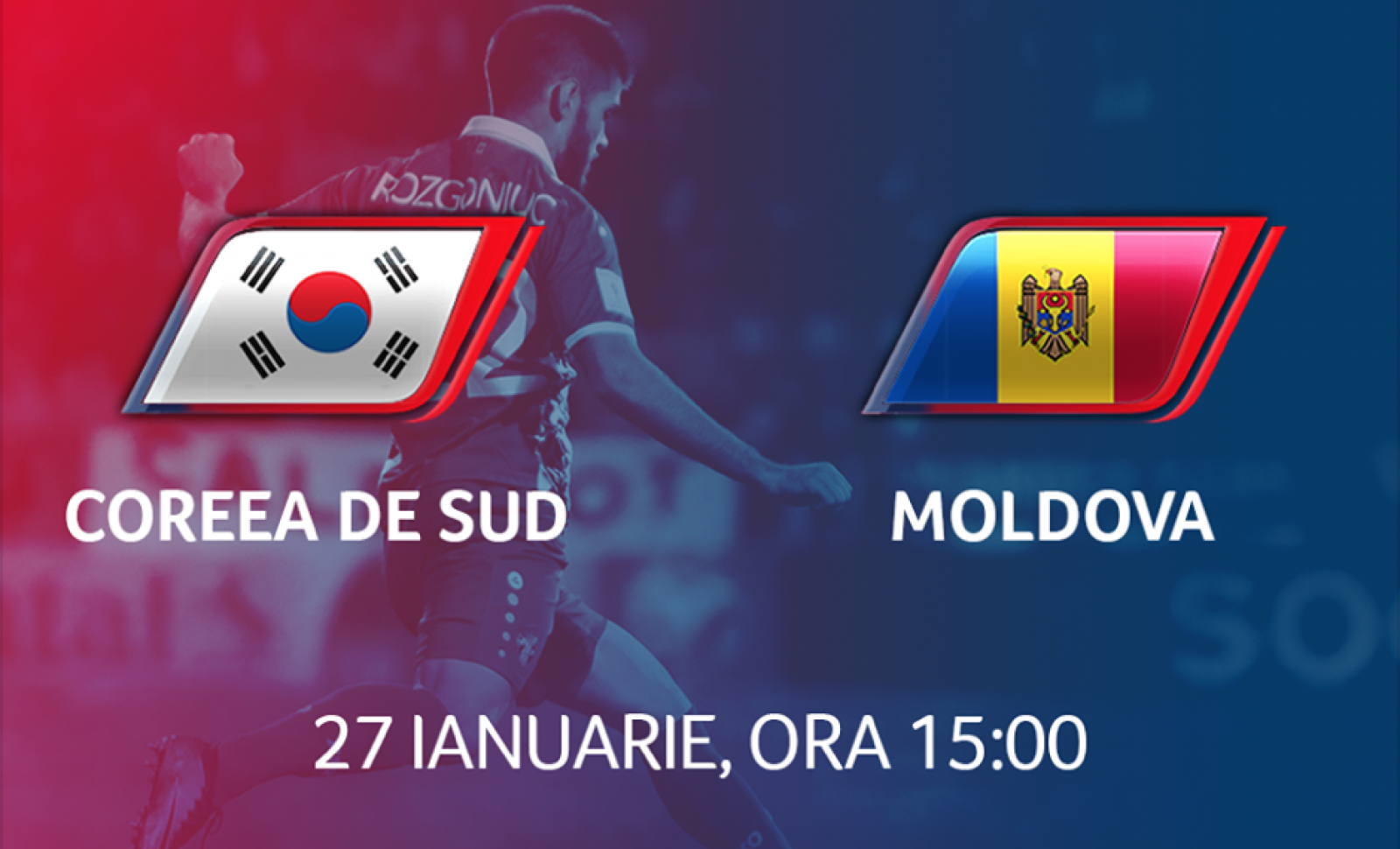 (video) Primul meci al Naționalei din 2018: Moldova - Coreea de Sud 0:1
