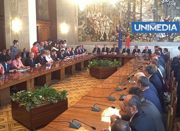 (video) Semnarea Acordului de Guvernare