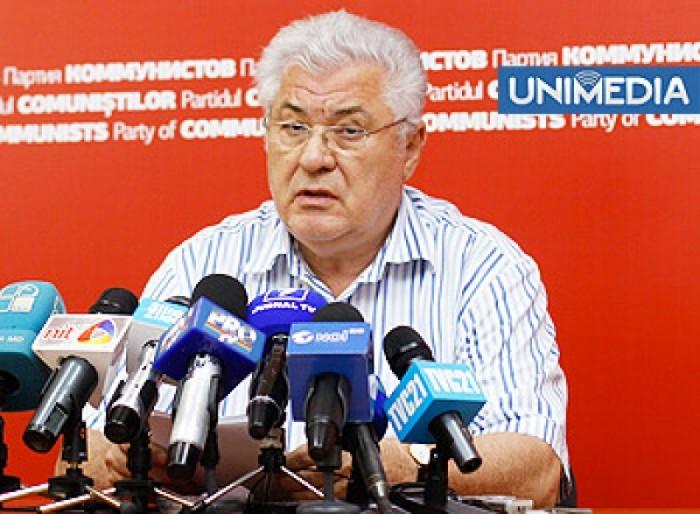 LIVE: Voronin susține o conferință de presă
