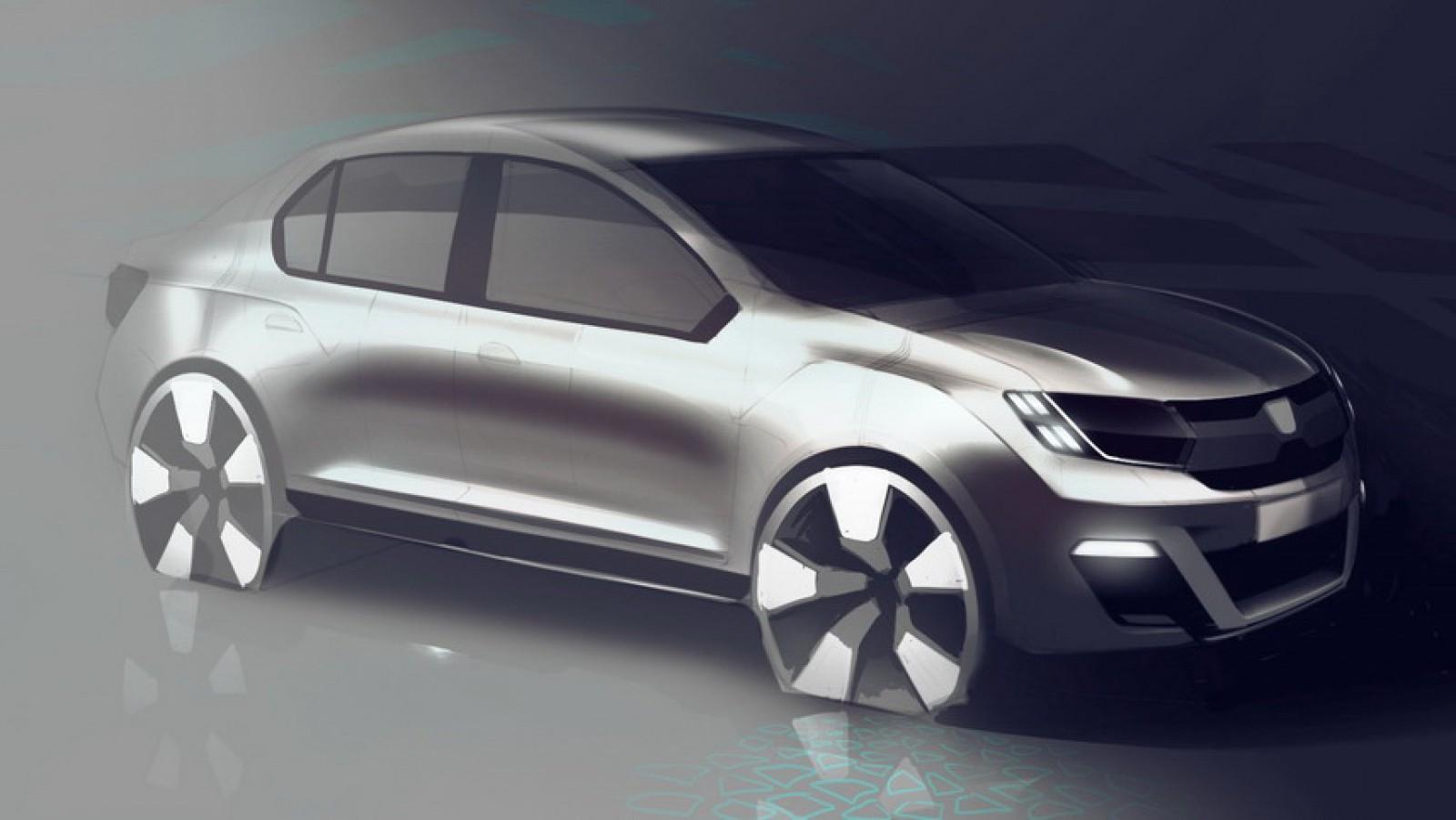 Logan 3.0! Primele detalii despre noua generaţie a celui mai ieftin model vândut de Renault şi Dacia
