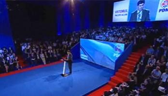 Lupu la Congres: PDM trebuie să devină cel mai mare partid de centru-stânga!