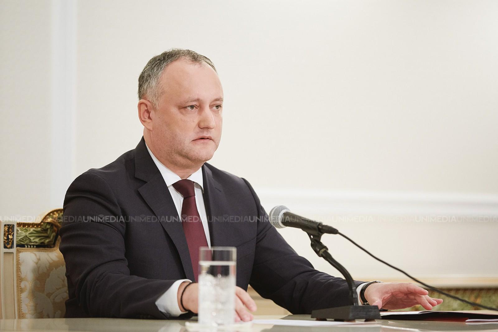 Mai des în Rusia, decât la Bălți sau la Cahul: Președintele Igor Dodon va zbura la Soci