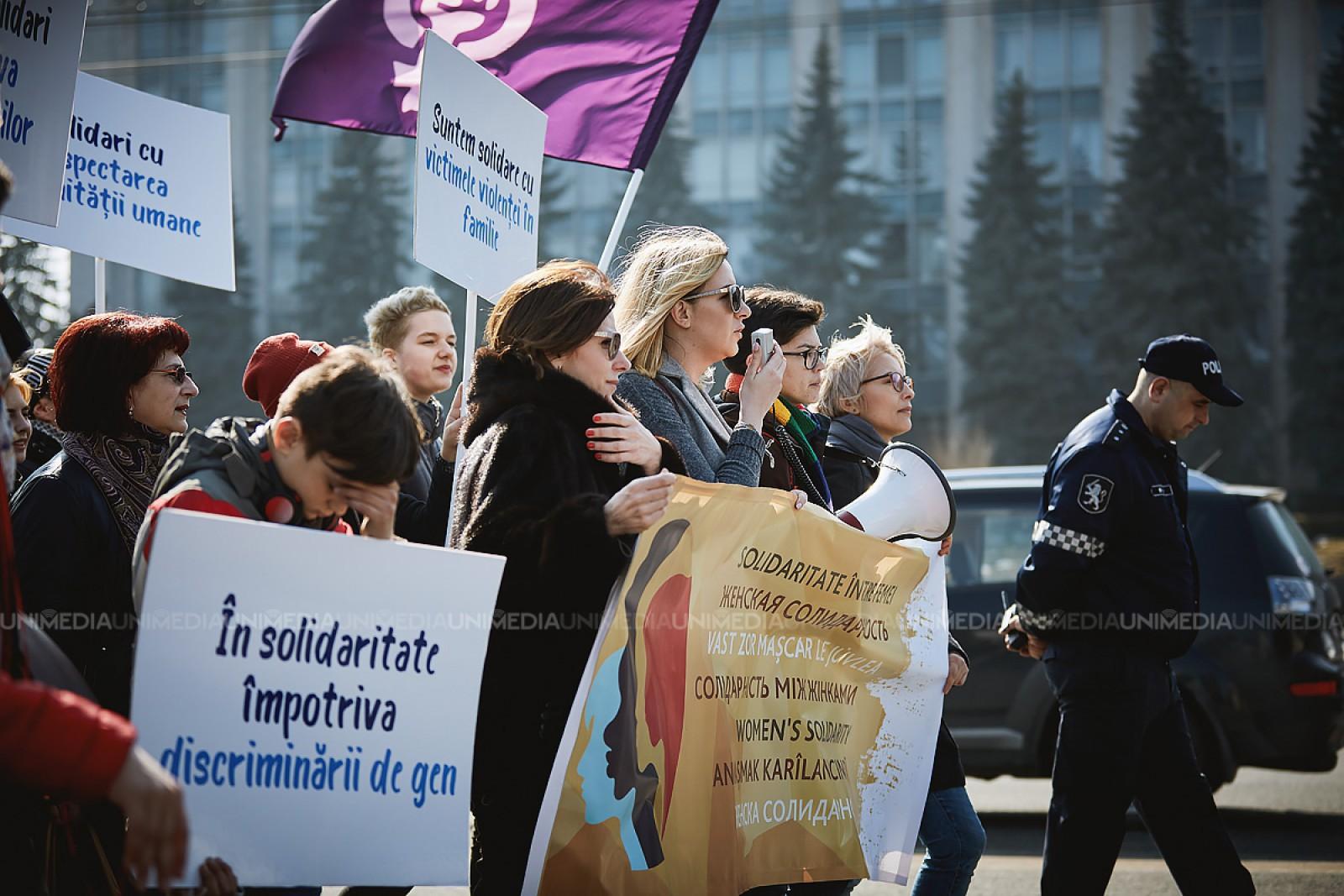 Maia Sandu, despre drepturile și libertățile femeii, în contextul marșului de astăzi din capitală