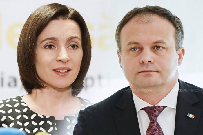 Maia Sandu, față în față cu Andrian Candu la Moldova 1: UNIMEDIA va transmite emisiunea live