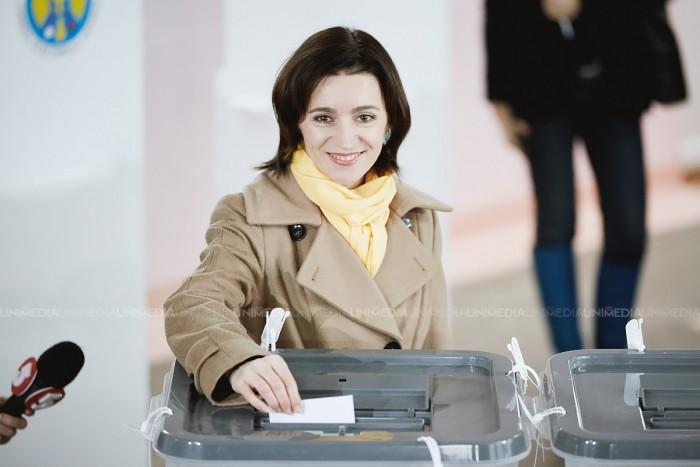 """Maia Sandu, la un an de la alegerile prezidențiale: """"Cu un an în urmă, am mers să votăm, pentru că ne doream o schimbare adevărată a stării de lucruri din Moldova"""""""