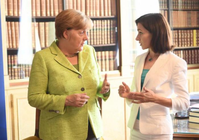 """Maia Sandu a felicitat-o pe Angela Merkel cu ocazia victoriei la alegeri: """"Este o reușită istorică pentru doamna Merkel"""""""