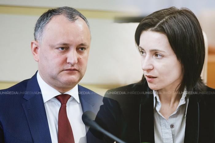 (video) Sandu: Pentru ce merit ați zburat cu avionul lui Plahotniuc la Odesa? Dodon: Am fost cu soția la niște prieteni, ei au achitat